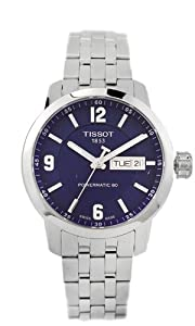 Tissot Men's T0554301104700 Analog Display Swiss Automatic Silver Watch