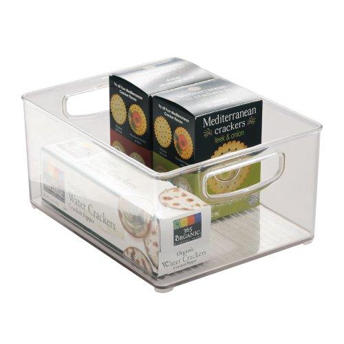 InterDesign-Organizer-Box-fr-Kchenschrank-und-Speisekammer-255-x-2025-x-1275-cm-Durchsichtig
