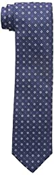 Tommy Hilfiger Men\'s Foulard Slim Tie, Navy, One Size