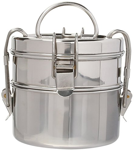To-Go Ware 2 Tier Snack Stack Stainless Steel Tiffin, Small (Go Stack Containers compare prices)