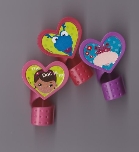 DecoPac Doc McStuffins Doc and Friends Cupcake Rings (12 Count)
