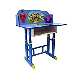 Parin PARYDQN53 Kids Study Desk (Blue)