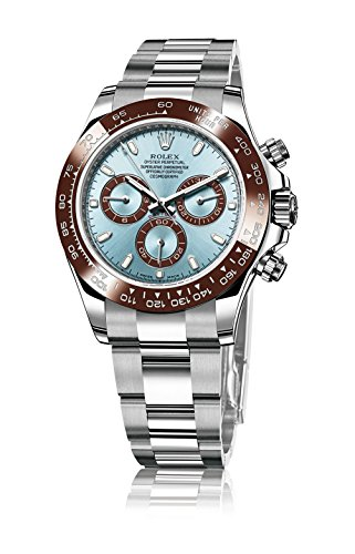 ROLEX DAYTONA PLATINUM ICE BLUE DIAL CERAMIC 116506 BOX/PAPERS UNWORN 2014