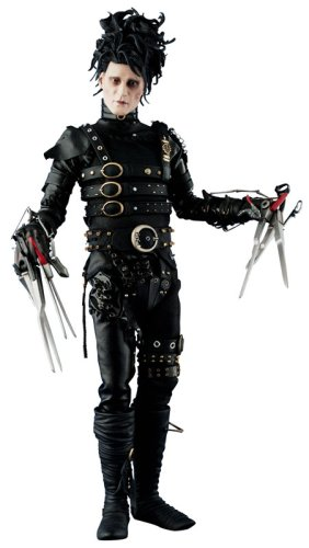 Hot Toys 1 6 Scale Edward Scissorhands Movie Masterpieces Mms82 Johnny Depp Action Figure