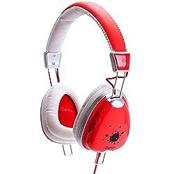 iDance FUNKY200 Headphones - Red & White