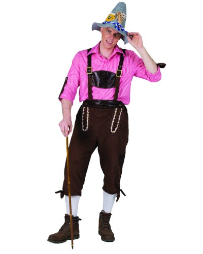 Funny Fashion Mens Swedish German Lederhosen Pants Halloween Costume
