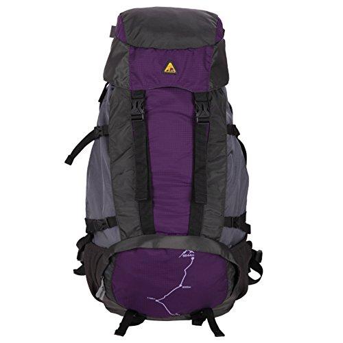 Outdoor épaule sac à dos / sac multifonction de grande capacité sac à dos / épaule alpinisme-violet 60L