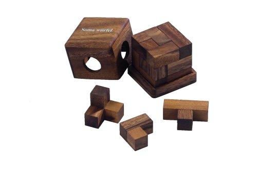 Philos 6206 - Cubo soma piccolo, 7 pezzi del puzzle
