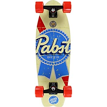 "Santa Cruz PBC PBR Vintage Shark Complete Skateboard Cruiser - 8.8"" x 27.7"""