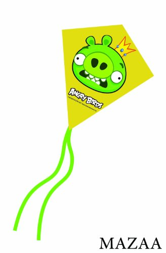 Angry Birds King Pig Mini Poly Diamond Kite 7.5""