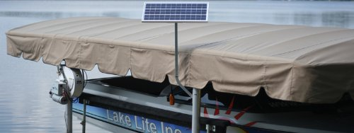 LakeLite Boat Lift Solar Charge Kit 20W-12V