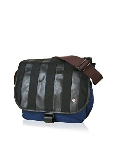 Token Men's Flap Bag, Navy