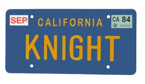 Supercar - Knight Rider Michael Knight KITT K.I.T.T. Targa License Plate Replica
