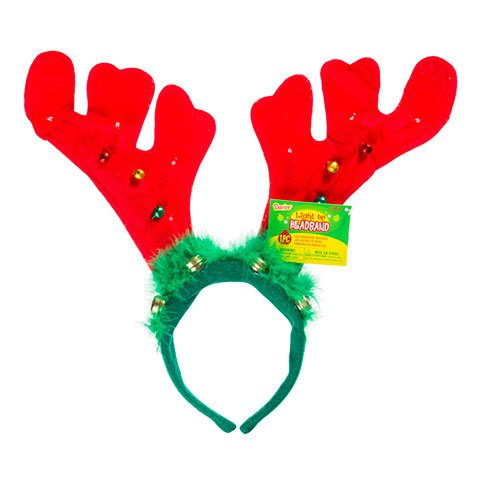Bulk Buy: Darice Diy Crafts Reindeer Antlers With Led Lights 12 X 14 Inches (12-Pack) 8603-100