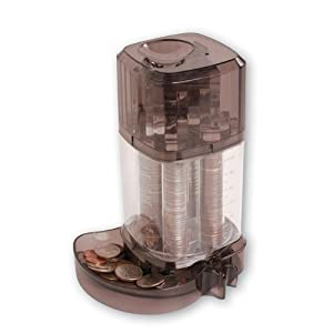 Meridian point coin sorting bank coin sorters and counters office products - Coin sorting piggy bank ...