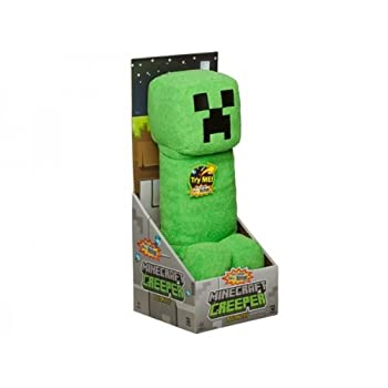 """Mojang Official Minecraft Creeper Plush with Sound by Jinx, 15"""" Large by Mojang"""