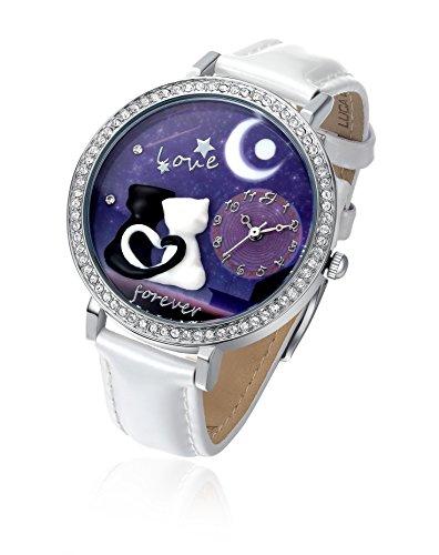 orologio-con-ip-argento-e-cinturino-bianco-gatti-innamorati