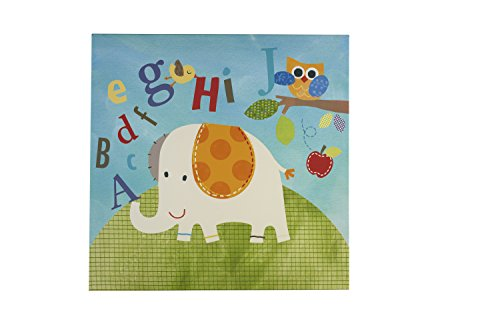 NoJo by Jill McDonald Abc with Me Canvas Wall Decor