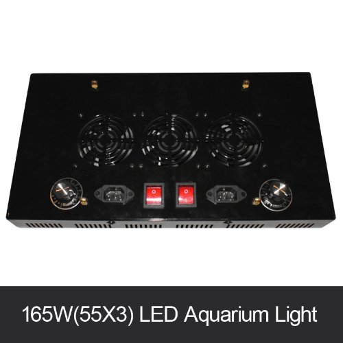 Biggest Discount Saltwater 165 Watt Led Aquarium Lighting For Reef Fixture With 2 Dimmers ,2 Switches Dimmable
