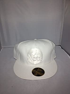 New Jersey Nets New Era Fitted White 62 by New Era