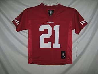 Frank Gore San Francisco 49ers Red NFL Kids 2013-14 Season Mid-tier Jersey (Kids 4)