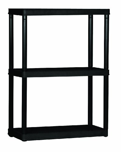 Gracious Living 3-Shelf Light Duty Shelf Unit (Resin Storage Shelves compare prices)