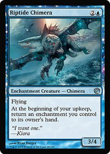 Magic: the Gathering - Riptide Chimera (65/165) - Journey into Nyx - Foil - 1