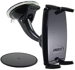 Arkon IPM515 Windshield/Dashboard Mount with Slim-Grip Phone Holder--Compatible with iPhone 4 / 4S