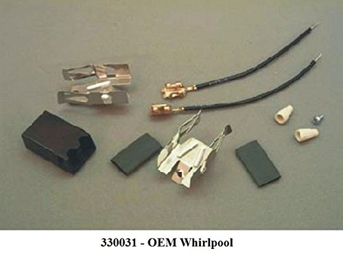 Electric Range/Cooktop/Oven Surface Burner Receptacle Kit (Terminal Block) New OEM Whirlpool