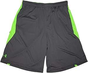 "Under Armour Men's Multiplier 10"" Shorts (X-Large, Gray (045))"