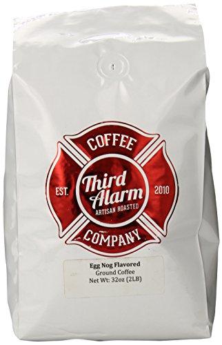Third Alarm Ground Coffee, Egg Nog, 32 Ounce