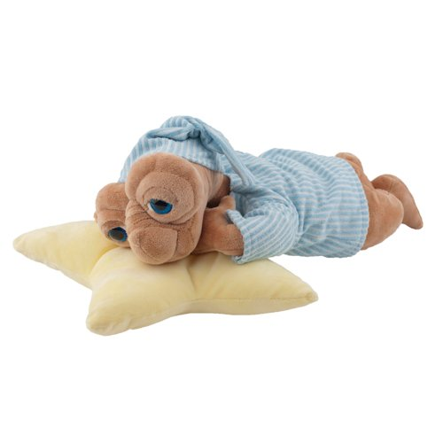 E.T. Extra-Terrestrial in PJ's with Star Pillow - Large Plush Doll Toy
