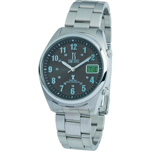 Radio Controlled Solar-powered Multi-band Watch (RCSLDD-SS41-SV20)