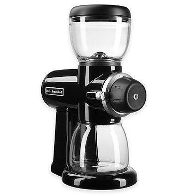 KitchenAid Burr Coffee Bean Grinder in Black (BLACK) Model#KCG0702OB (Kitchenaid Coffee Grinder Maker compare prices)