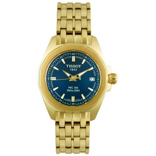 Tissot Women's T22528141 T-Sport Collection PRC 100 Gold-Tone Watch