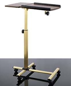 table maxx komfort laptop tisch beistelltisch messing verstellbar. Black Bedroom Furniture Sets. Home Design Ideas