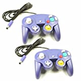 2 X Wired Game Controllers Console for Nintendo GameCube Wii Indigo UK