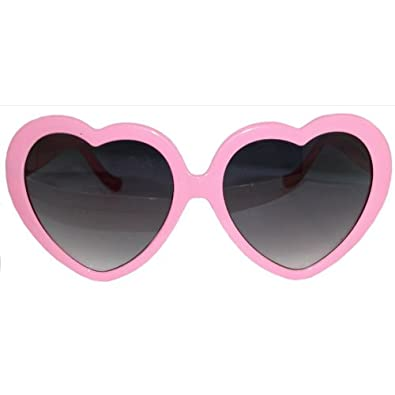 917c5e0a8f7 Pink Heart Sunglasses Amazon