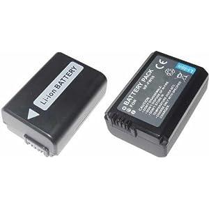 リチウムイオンバッテリー SONY NP-FW50互換バッテリー SLT-A55VY対応 残量表示付