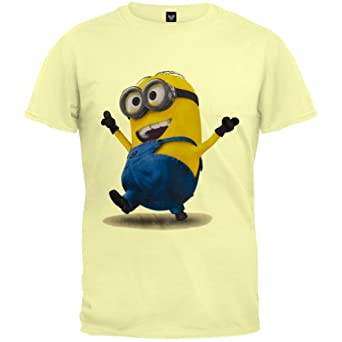 despicable me strolling minion t shirt clothing