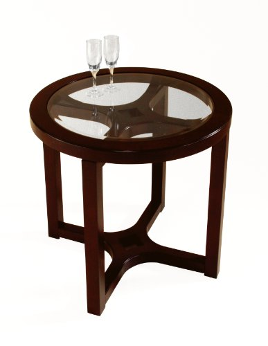 Image of Magnussen Juniper Wood Round End Table (T1020-05)