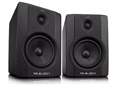 "M-Audio BX5 D2 5"" Active 2-Way Studio Monitor Speakers from M-Audio"