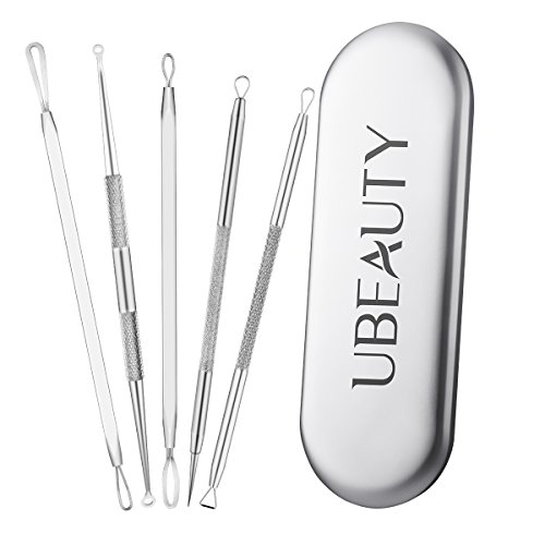 ElleSye UBeauty 5-in-1 Blackhead Remover Kit Acne Pimple Comedone Extractor Tool (5 In 1 Tool compare prices)