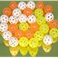 Golf balls, Airstream practice-bag of 24 assorted colours-01908