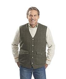 Woolrich Men\'s Teton Vest, Gray, X-Large