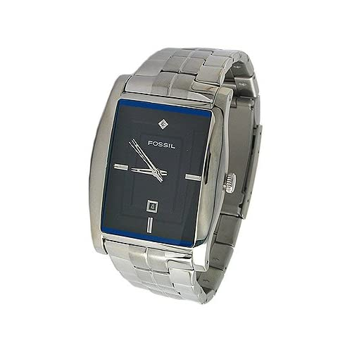 Mens Fossil Watch With Diamonds