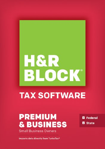 H&R Block Tax Software Premium & Business 2013 Win [Download]