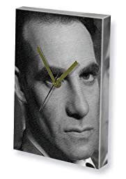 ADRIAN PASDAR - Canvas Clock (A4 - Signed by the Artist) #js001