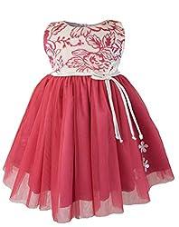 Faye Ivory & Mauve Velvet Celebration Dress 9-12 Months