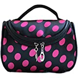 KINGMAK Chic-Lady-MakeupCosmetic-Case-Toiletry-Bag-Zebra-Travel-Handbag-Organizer-pouchG